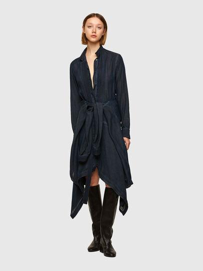 Diesel - DERHONDA, Dark Blue - Dresses - Image 1