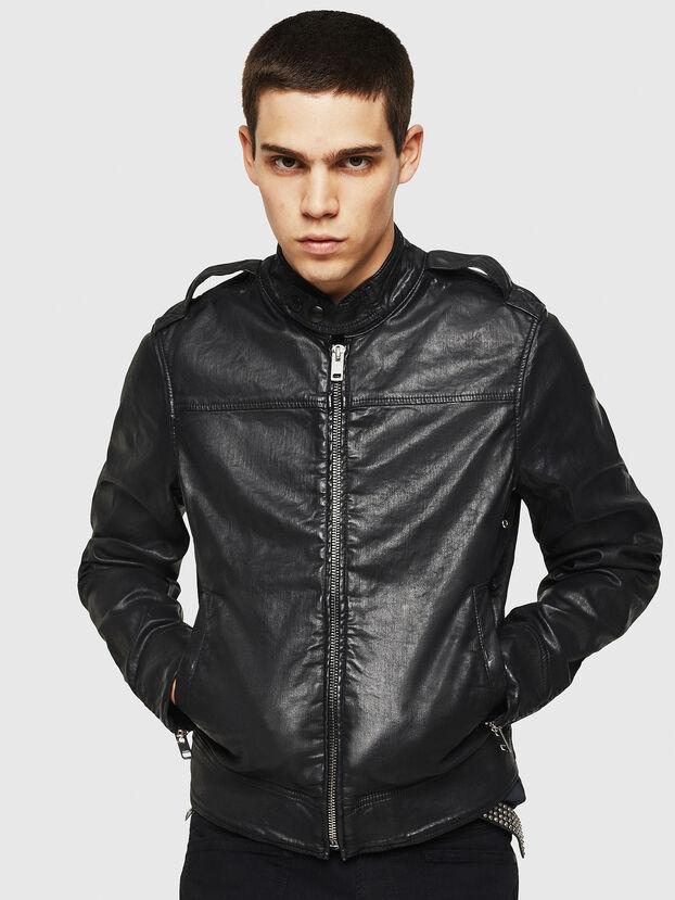 D-JEI JOGGJEANS, Black - Denim Jackets