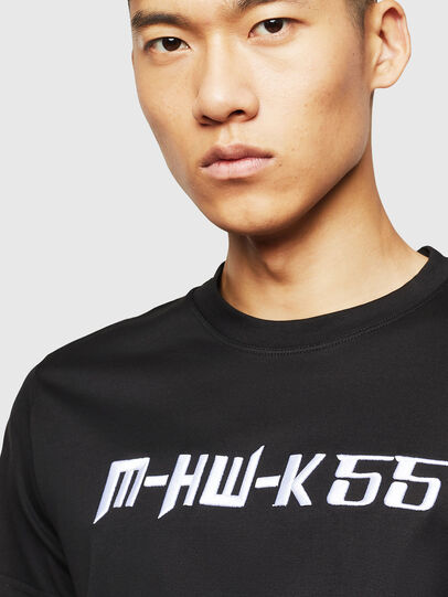Diesel - T-DIEGO-B17, Black - T-Shirts - Image 3