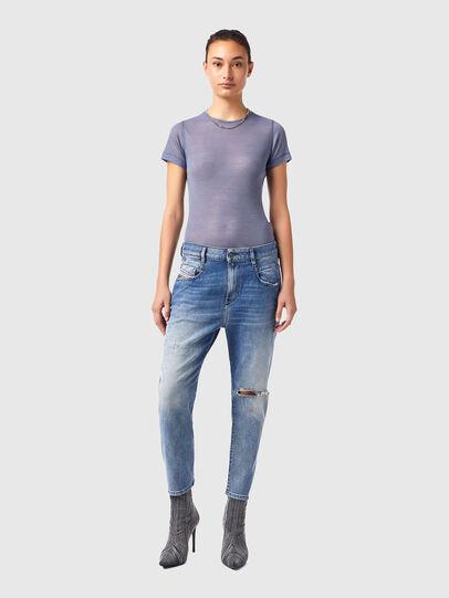 Diesel - Fayza Boyfriend Jeans 09B16, Light Blue - Jeans - Image 5