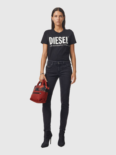 Diesel - D-Jevel 0870G, Negro/Gris oscuro - Vaqueros - Image 5