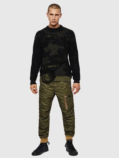 Diesel - K-MUSCHIO, Black - Sweaters - Image 6