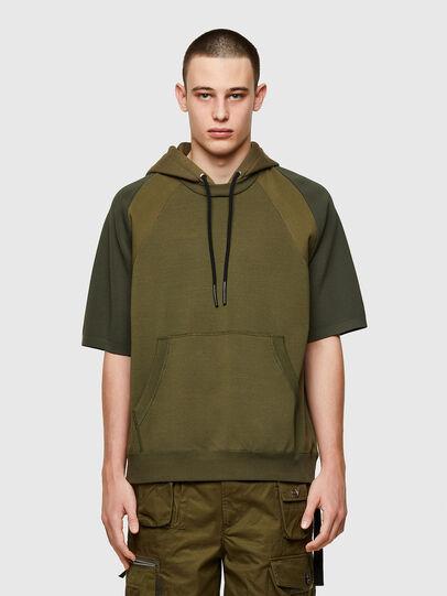 Diesel - K-MILKY, Military Green - Sweaters - Image 1
