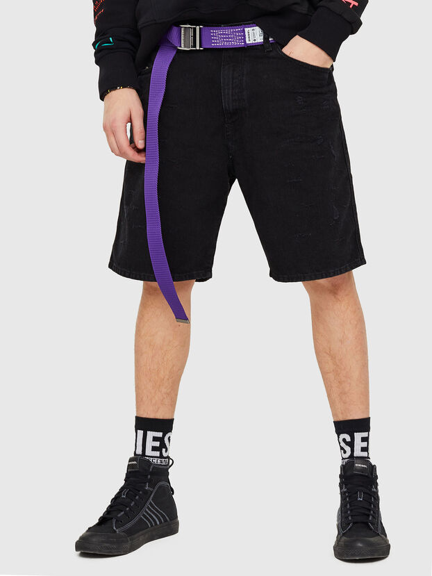 D-WILLOH, Black/Dark Grey - Shorts
