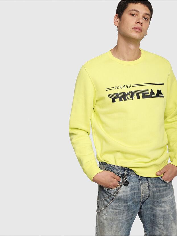 S-GIR-Y1, Yellow - Sweatshirts