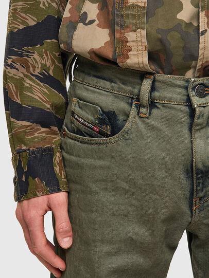 Diesel - D-Strukt Slim Jeans 09A50, Military Green - Jeans - Image 4