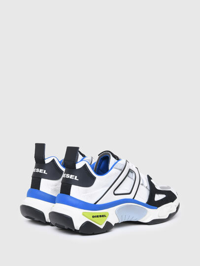 Diesel - S-KIPPER LOW TREK II, White/Black - Sneakers - Image 3