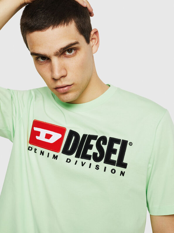 T-JUST-DIVISION, Green Fluo - T-Shirts
