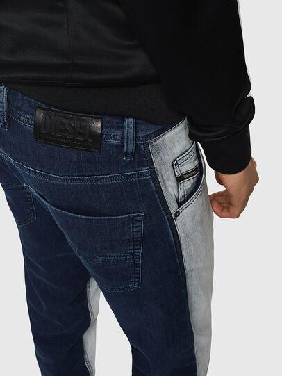 Diesel - Krooley JoggJeans 0870R, Medium Blue - Jeans - Image 3