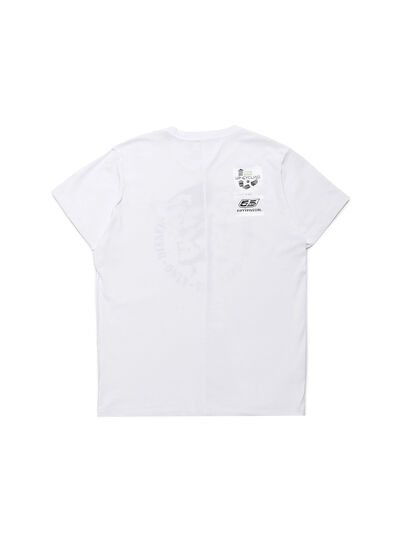 Diesel - D-MESO&MESO, White - T-Shirts - Image 3