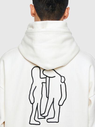 Diesel - S-UMMERHO, White - Sweatshirts - Image 4
