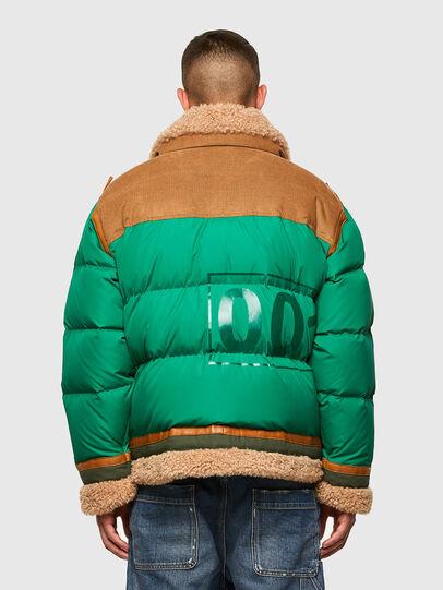 Diesel - W-EVAN-A, Green - Winter Jackets - Image 2