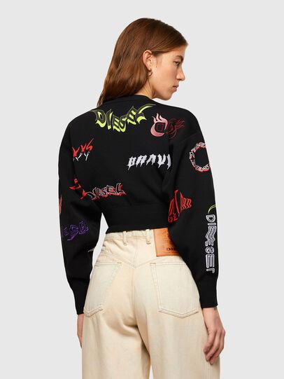 Diesel - M-MALI, Black - Sweaters - Image 2