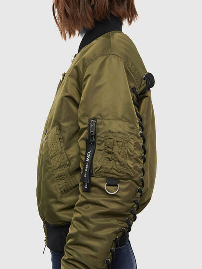Diesel - W-SWING, Military Green - Winter Jackets - Image 5