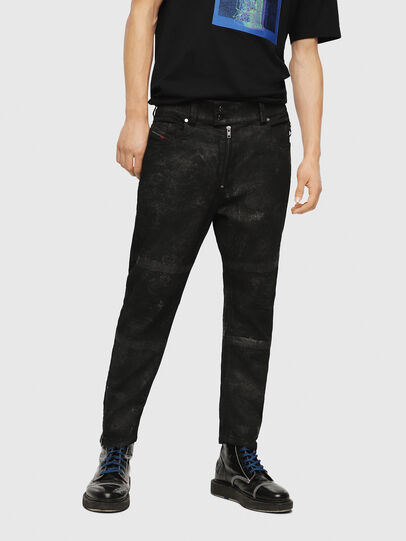 Diesel - Shibuia JoggJeans 069CQ, Black/Dark Grey - Jeans - Image 1