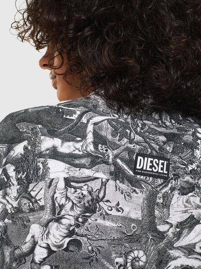 Diesel - C-FRY, Black/White - Shirts - Image 5