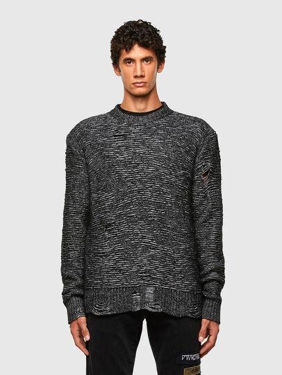 Diesel - K-JOSH, Black - Sweaters - Image 1
