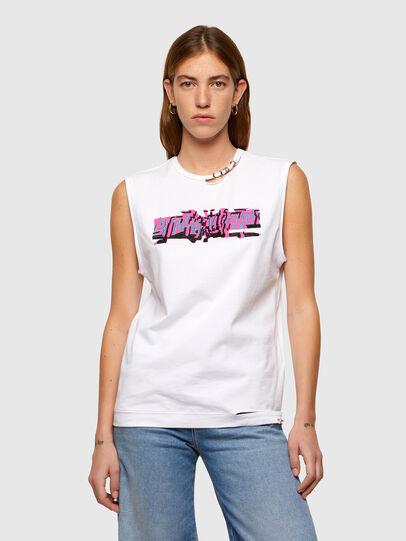 Diesel - T-BULL, White - T-Shirts - Image 1