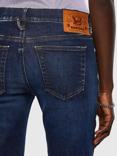 Diesel - D-Ebbey Bootcut Jeans 09A30, Dark Blue - Jeans - Image 3