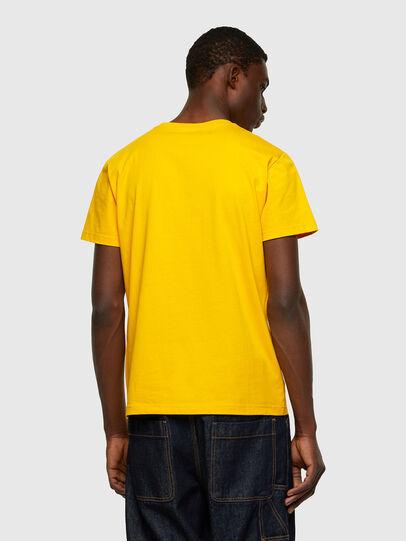 Diesel - T-DIEGO-CUTY, Yellow - T-Shirts - Image 2