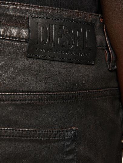 Diesel - Fayza JoggJeans 069PG, Black/Orange - Jeans - Image 4