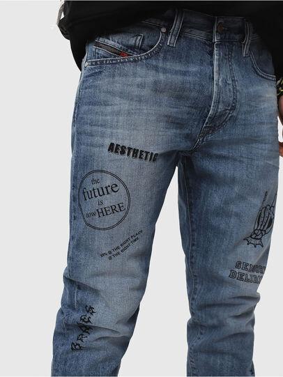 Diesel - Mharky 0094D, Medium Blue - Jeans - Image 4