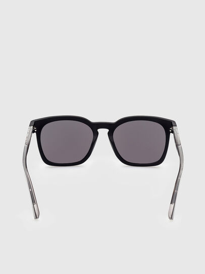Diesel - DL0342, Black/Grey - Sunglasses - Image 4
