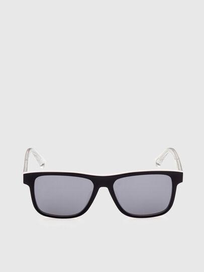 Diesel - DL0279, White/Orange - Sunglasses - Image 1