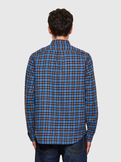 Diesel - S-MOI-CHK-A, Blue/Yellow - Shirts - Image 2