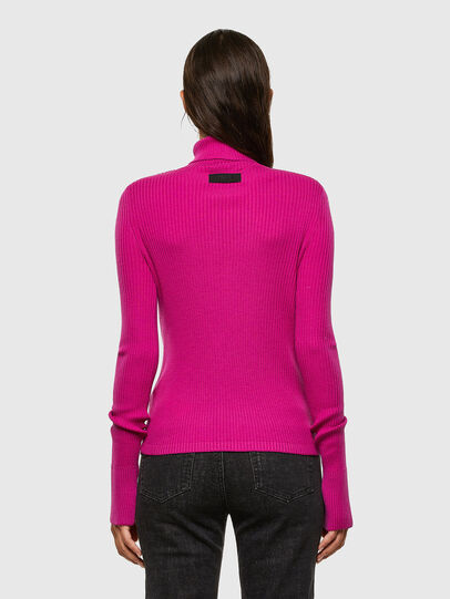 Diesel - M-KIMBERLY, Hot pink - Sweaters - Image 2