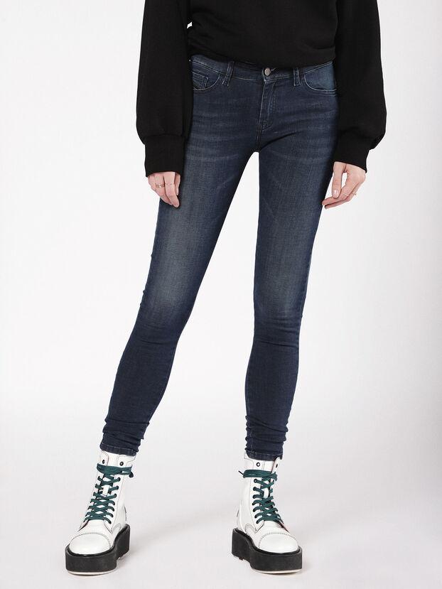 Slandy 0681G, Dark Blue - Jeans