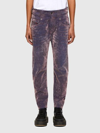 Diesel - Fayza 069RQ, Blue/Pink - Jeans - Image 1