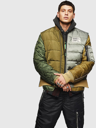 Diesel - W-KOSLOV, Military Green - Winter Jackets - Image 1