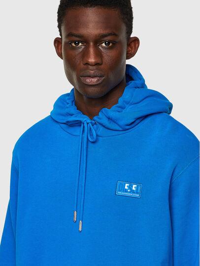 Diesel - S-GIRK-HOOD-C.C, Blue - Sweatshirts - Image 3