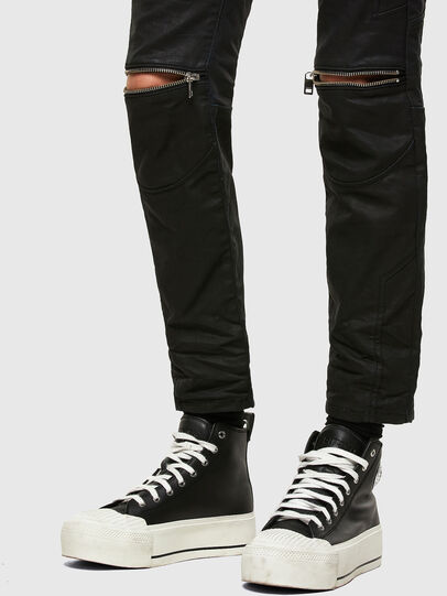 Diesel - D-Joy Slim JoggJeans® 069TT, Black/Dark Grey - Jeans - Image 5