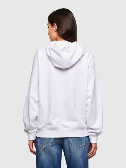 Diesel - F-ANG-HOOD-K24, White - Sweatshirts - Image 2