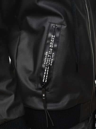 Diesel - S-FILM, Black - Sweatshirts - Image 5