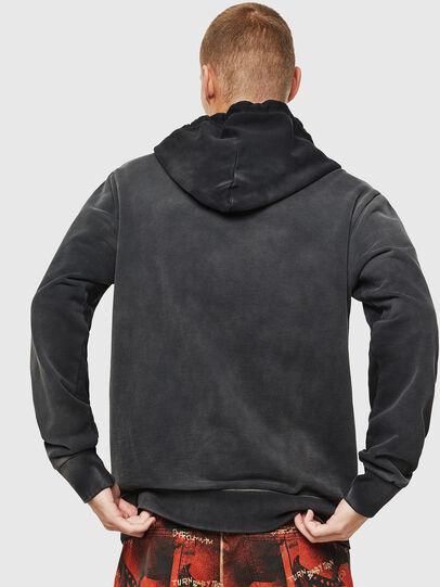 Diesel - S-GIRK-HOOD-SUN, Black - Sweatshirts - Image 3