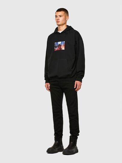 Diesel - S-UMMEREL, Black - Sweatshirts - Image 5
