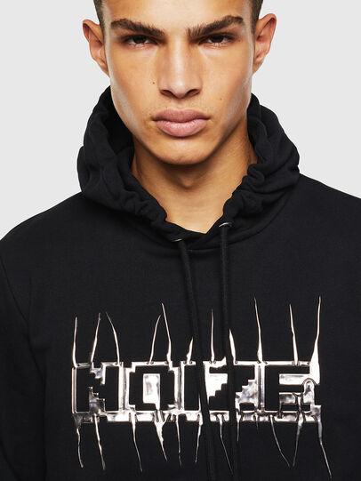 Diesel - S-GIRK-HOOD-J1, Black - Sweatshirts - Image 4