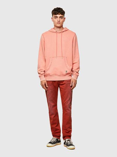 Diesel - S-GIRK-HOOD-MOHI-B1, Pink - Sweatshirts - Image 5