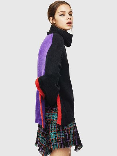 Diesel - M-PERSIA, Black - Sweaters - Image 5