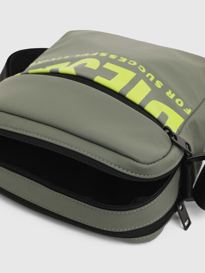 Diesel - F-BOLD DOUBLECROSS I, Olive Green - Crossbody Bags - Image 5