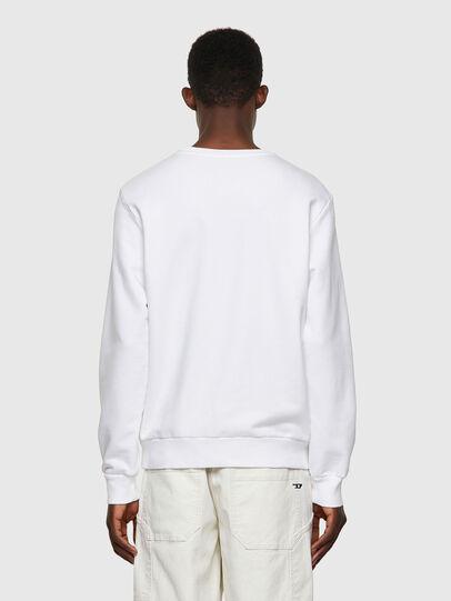 Diesel - S-GIRK-B3, White - Sweatshirts - Image 2