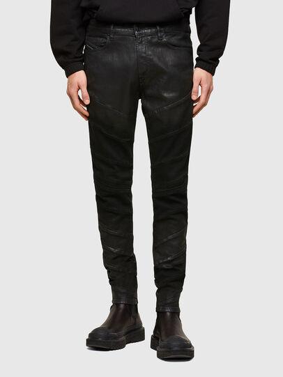Diesel - D-Amny Skinny Jeans 009RA, Black/Dark Grey - Jeans - Image 1