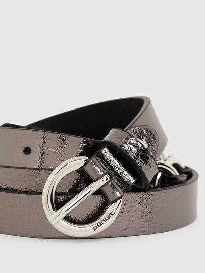 Diesel - B-OLIMP, Gris/Negro - Cinturones - Image 2