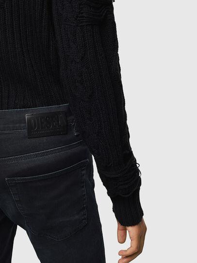 Diesel - D-Reeft JoggJeans 069KJ, Black/Dark Grey - Jeans - Image 4