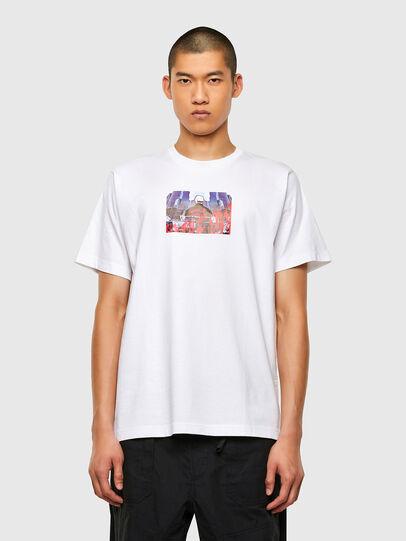 Diesel - T-TUBOLAR-N2, White - T-Shirts - Image 1