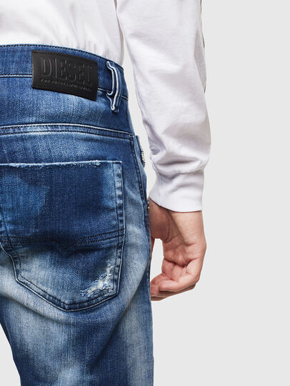 Diesel - Krooley JoggJeans 0099S, Dark Blue - Jeans - Image 4