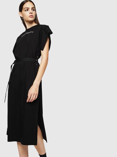 Diesel - D-FLIX, Black - Dresses - Image 1